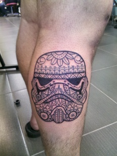 Patterned Storm Trooper