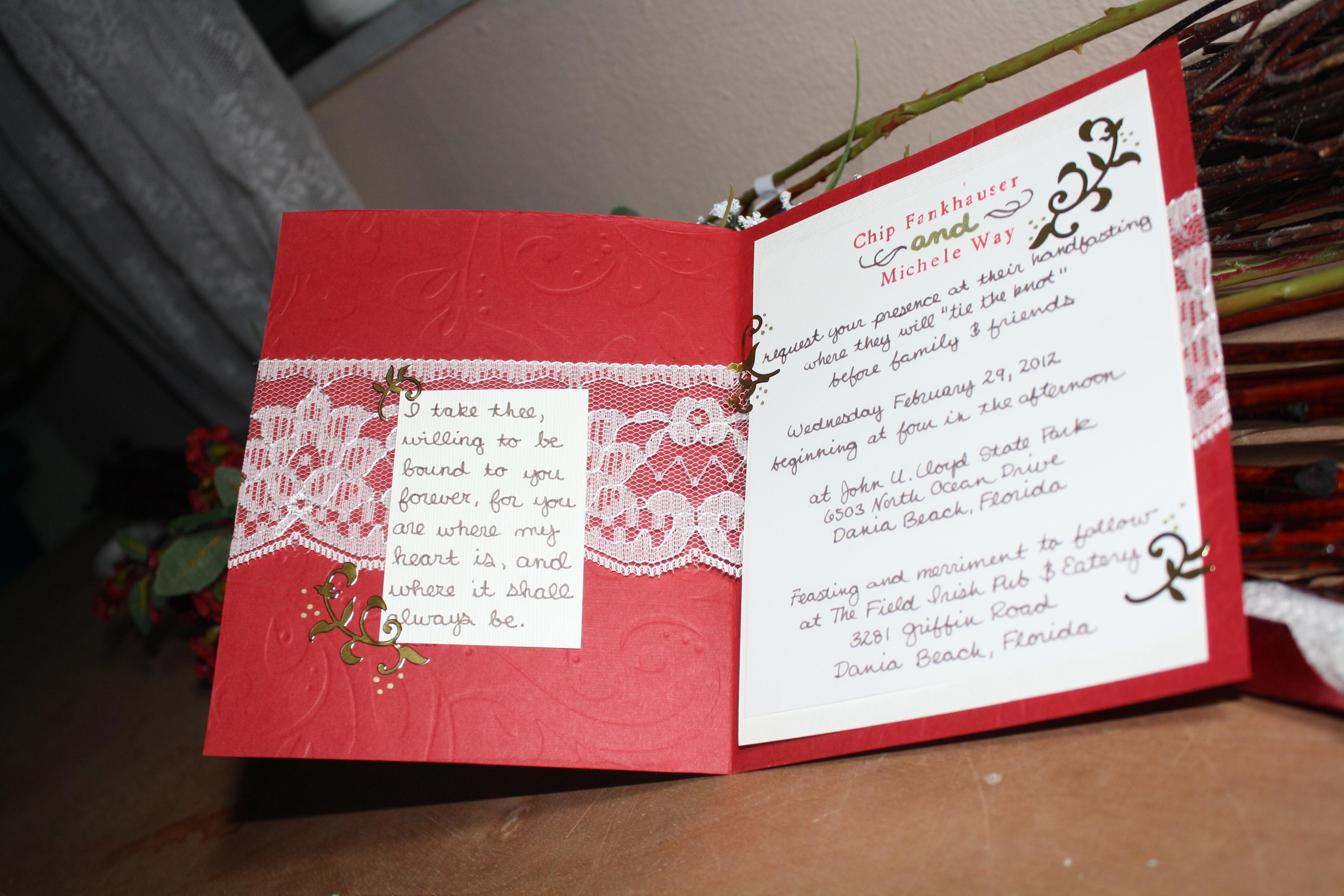 Mom\'s Custom Handfasting | Kristyn Michele Bat