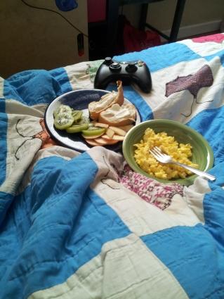 Breakfast in Bed, Omni Version
